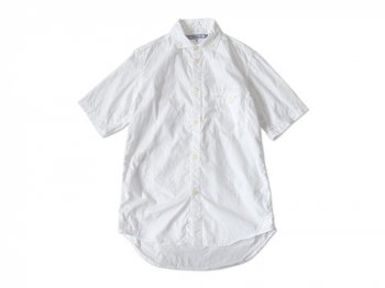 ordinary fits S/S BARISTA SHIRT OX WHITE