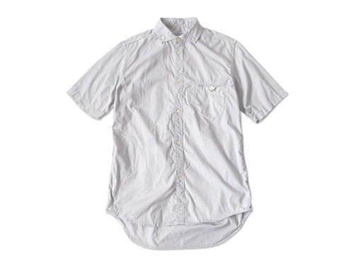 ordinary fits S/S BARISTA SHIRT OX LIGHT GRAY