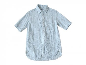 ordinary fits S/S LITHUANIA LINEN SHIRT NARROW STRIPE