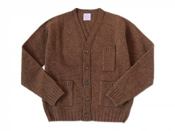 【別注】 BRICK POCKET CARDIGAN PECAN