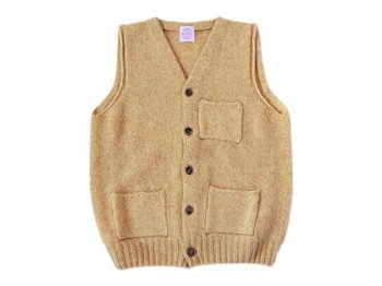 【別注】 BRICK POCKET VEST MARZIPAN