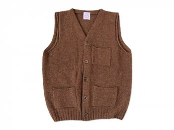 【別注】 BRICK POCKET VEST PECAN