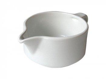 白い片口ソースカップ
