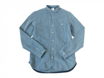 maillot sunset herringbone shirts BLUE