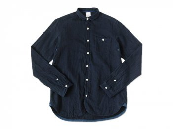 maillot sunset herringbone shirts NAVY