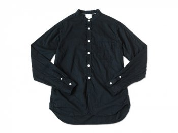 maillot sunset 80 double stand collar shirts NAVY