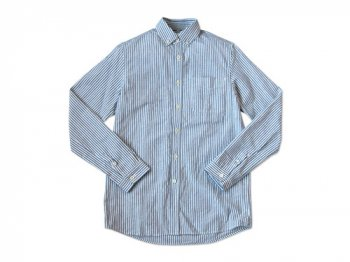 maillot sunset stripe B.D. shirts BLUE