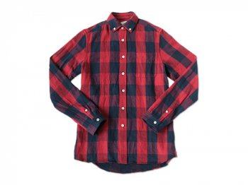 maillot sunset buffalo check B.D. shirts RED x NAVY