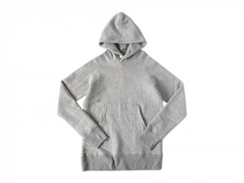 maillot Sweat pull parka TOP GRAY