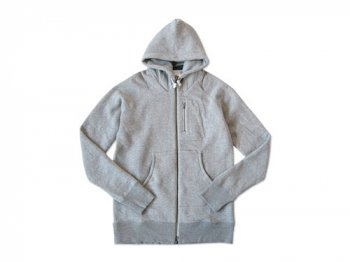 maillot Sweat zip parka TOP GRAY