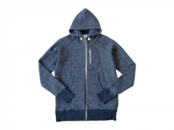 maillot Sweat zip parka TOP NAVY