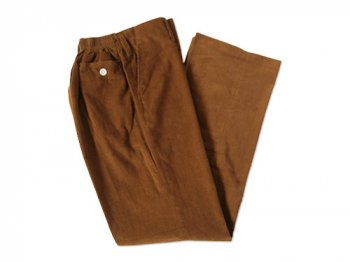 Charpentier de Vaisseau CORDUROY SCHOOL PANTS BROWN