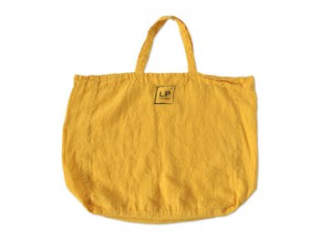 LINGE PARTICULIER リネントートバッグ YELLOW
