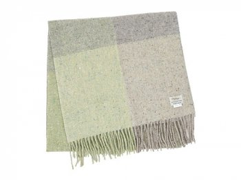 Studio Donegal TWEED MUFFLER LIGHT GRAY A