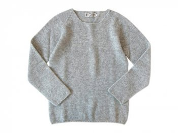 NOR' EASTERLY WIDE NECK SWEATER SILVER