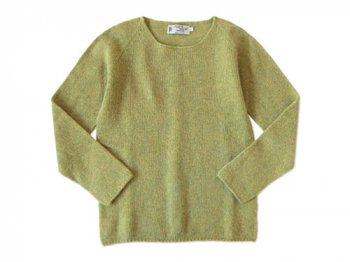 NOR' EASTERLY WIDE NECK SWEATER STONEHENGE
