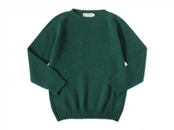 NOR' EASTERLY CREW NECK SWEATER FOREST