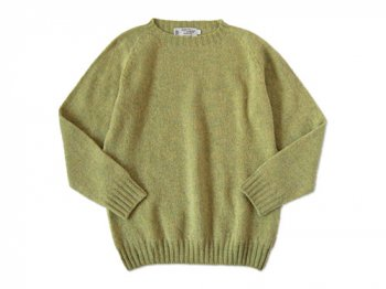NOR' EASTERLY CREW NECK SWEATER STONEHENGE