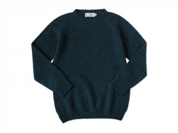 NOR' EASTERLY CREW NECK SWEATER PETREL