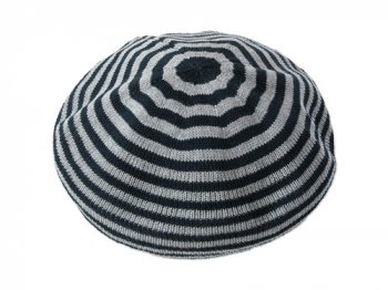 maillot cotton beret GRAY x NAVY