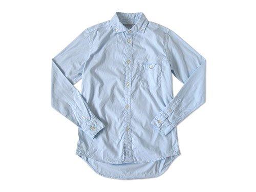 ordinary fitsのシャツとワークジャケット