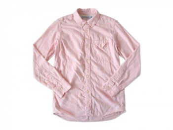 ordinary fits FLANNEL SHIRT PINK