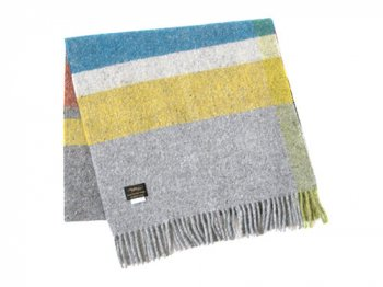 Studio Donegal TWEED MUFFLER GRAY MULTI 1