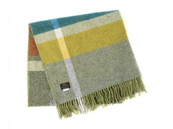 Studio Donegal TWEED MUFFLER GRAY MULTI 2