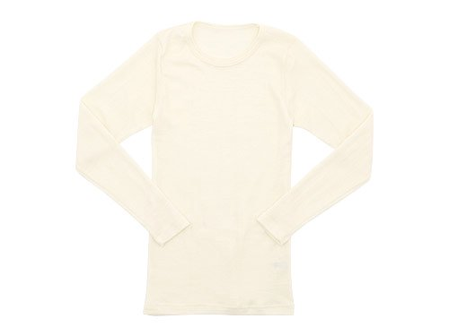 Tam Silk LONG SLEEVE CREAM