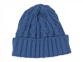 maillot cotton knit cap インディゴ
