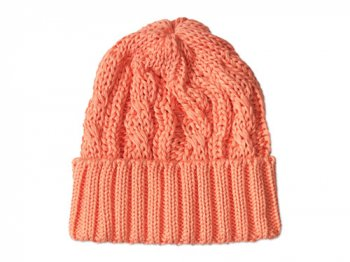 maillot cotton knit cap アプリコット