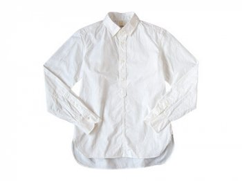 TATAMIZE P/O SHIRTS Plain OX WHITE
