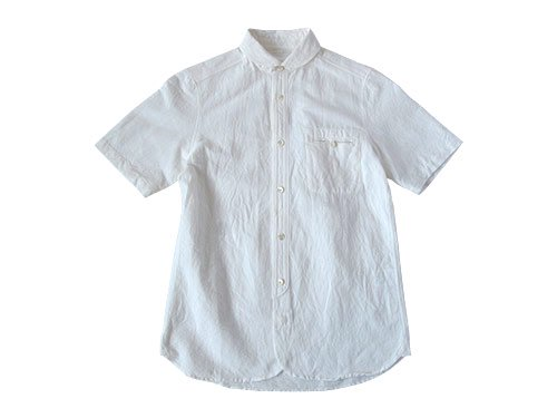 maillot sunset round work S/S shirts WHITE