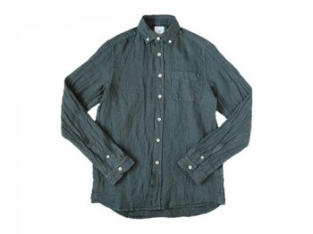 maillot sunset linen B.D. shirts CHARCOAL