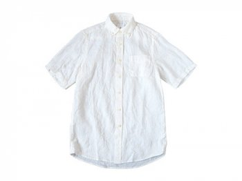 maillot sunset linen B.D. S/S shirts WHITE