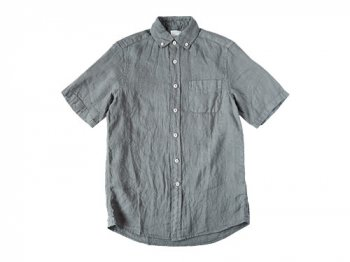 maillot sunset linen B.D. S/S shirts GRAY