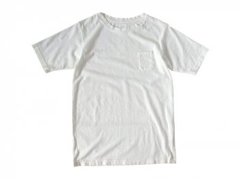 maillot crew neck pocket T WHITE