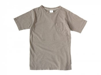 maillot crew neck pocket T BEIGE