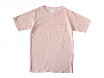 maillot crew neck pocket T LIGHT PINK