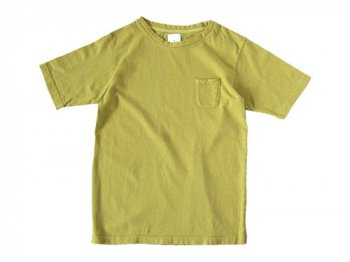 maillot crew neck pocket T GREEN