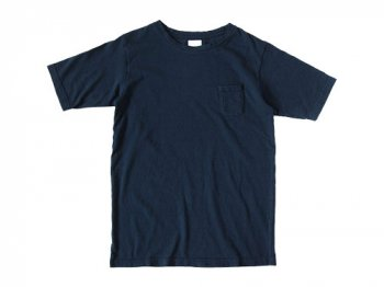maillot crew neck pocket T NAVY