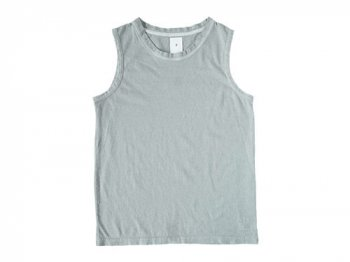 maillot no sleeve T BLUE GRAY