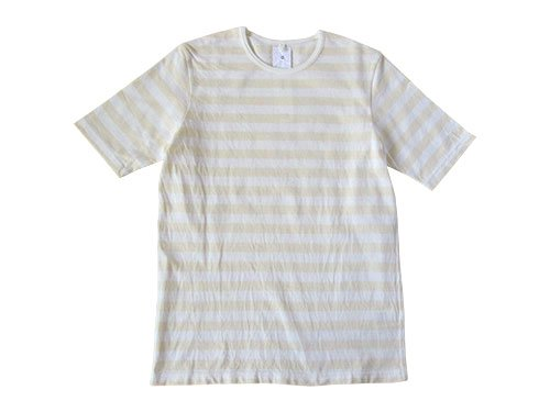 maillot ボーダー半袖Tシャツ / sunset gingham S/S shirts