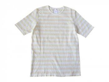maillot ボーダー半袖Tシャツ CREAM