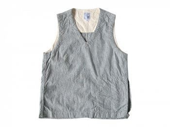 ordinary fits FLAT VEST STRIPE