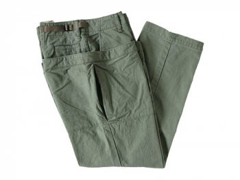ordinary fits UTILITY PANTS OLIVE