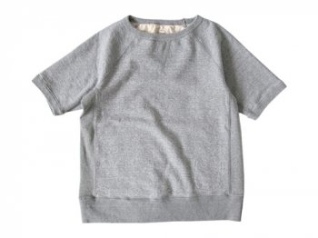 ordinary fits S/S SWEAT HEATHER GRAY