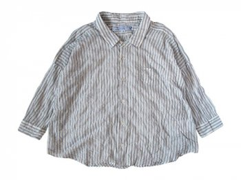 ordinary fits BARBAR SHIRT STRIPE PLANE