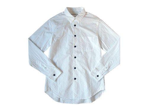 EEL 陶器釦のシャツ4 11WHITE