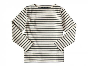 Le minor by DAILY WARDROBE INDUSTRY カットソー SATURDAY 2nd(ECRU x GRAY)